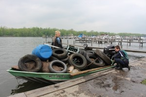 Chaut Lake Outlet Cleanup 2015 Photo